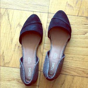 TOMS Jutti D'Orsay Flat - Never worn!